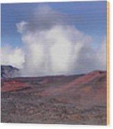 Haleakala Crater Maui Wood Print