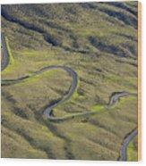 Haleakala Highway Wood Print