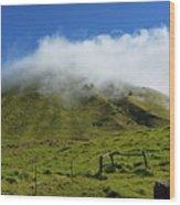 Haleakala Landscape Wood Print