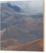 Haleakala Summit Wood Print