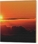 Maui Hawaii Haleakala National Park Sunrise IIi Wood Print