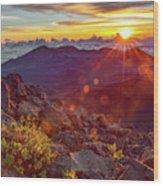 Haleakala Sunrise Wood Print