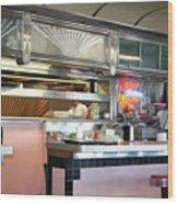 Haledon Diner Wood Print