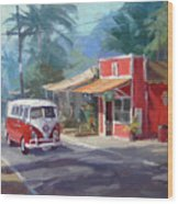Haleiwa Wood Print by Richard Robinson