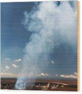 Halemaumau Crater 2016 Wood Print