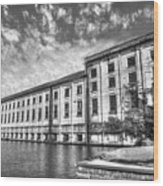 Hales Bar Dam B W Tennessee Valley Authority Tennessee River Art Wood Print