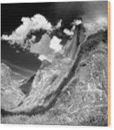 Half Dome - Alternative View - Yosemite Wood Print