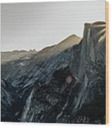 Half Dome From Glacier Point Wood Print