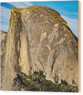 Half Dome Full 2 Wood Print