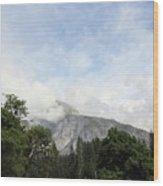 Half Dome Yosemite National Park Wood Print