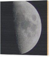 Half Moon Wood Print