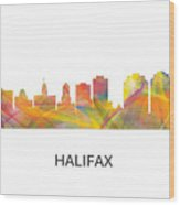 Halifax N.s.skyline Wood Print