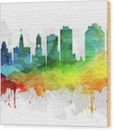 Halifax Skyline Mmr-canshx05 Wood Print