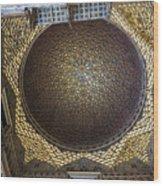 Hall Of Ambassadors - Alcazar Of Seville - Seville Spain Wood Print