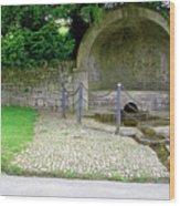 Hall Well - Tissington Wood Print