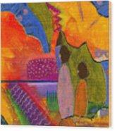 Hallelujah Praise Wood Print by Angela L Walker