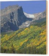 310221-hallett Peak In Autumn  Wood Print