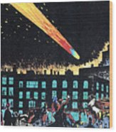 Halleys Comet, 1910 Wood Print