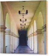 Hallowed Halls Wood Print
