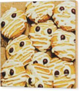 Halloween Baking Treats Wood Print