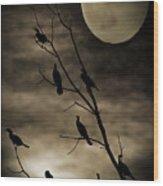 Guardians Of The Lake Wood Print