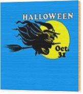 Halloween Witch #2 Wood Print