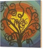 Hallows Eve Wood Print