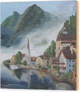 Hallstatt Austria Wood Print