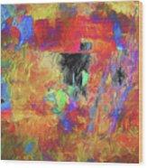 Hallucination 7976 Wood Print