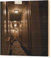 Hallway - 200320 Wood Print