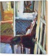 Hallways And Doorways Wood Print