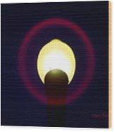 Halo Of Light Wood Print