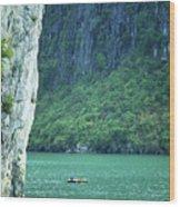 Halong Bay 01 Wood Print