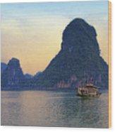 Halong Bay 5 Wood Print