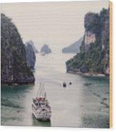 Halong Bay 8 Wood Print