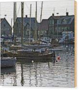 Halsingborg Marina 1 Wood Print
