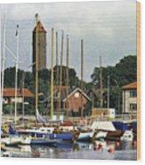 Halsingborg Marina 2 Wood Print