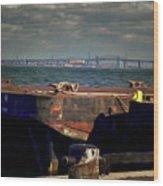 Hamilton Harbor- Pier 8 Wood Print