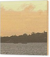 Hamilton Harbour Sunset Wood Print