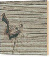 Hammered Wood Print