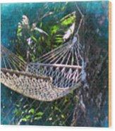 Hammock Dreams Wood Print