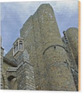 Hammond Castle Detail - Gloucester Ma Wood Print