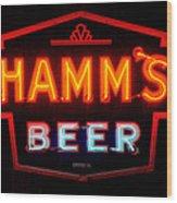 Hamm's Beer Wood Print