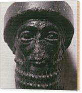 Hammurabi (d. 1750 B.c.) Wood Print
