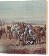 Hampshire Yeomanry Cavalry Wood Print