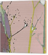 Hamptons Blush Wood Print