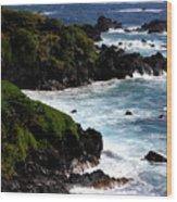 Hana Shore Wood Print