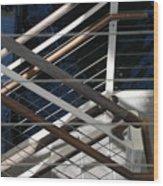 Hand Rails Wood Print