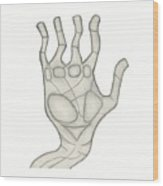 Hand Wood Print