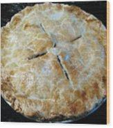 Handcrafted Apple Pie Wood Print